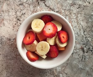 banana, breakfast, and fruit image