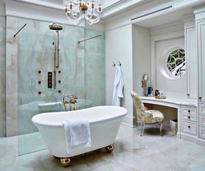 home, luxury, and bath image