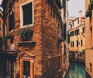architecture, grand canal, and nature image