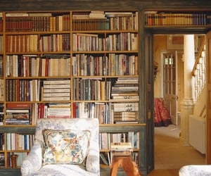 books, bookshelf, and reading image