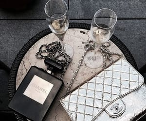 chanel, fashion, and drink image