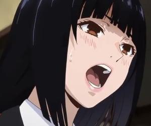 anime, kakegurui, and jabami image