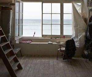 sea, window, and home image