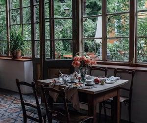 breakfast, food, and garden image