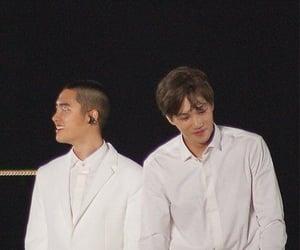 Chen, kyungsoo, and chanyeol image