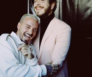 smile, j balvin, and post malone image