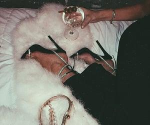 fashion, shoes, and diamond image