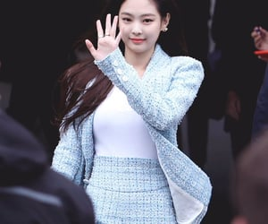 jennie, blackpink, and fashion image