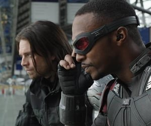 falcon, winter soldier, and civil war image