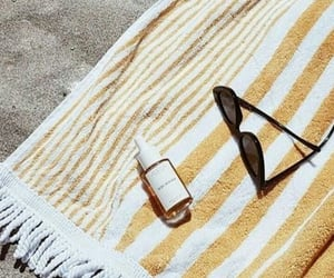 aesthetic, beach, and sand image