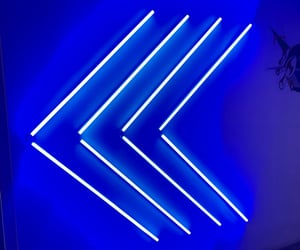 aesthetic, blue, and light image