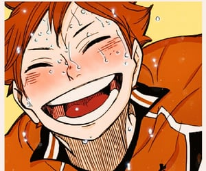 color, happy, and hinata shouyou image