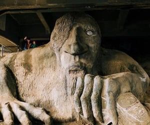 seattle and fremont troll image