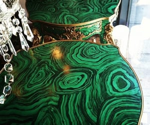 furniture, green, and luxury image