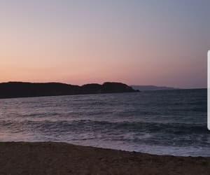 beach, beauty, and display image