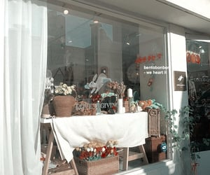 aesthetic, flowers, and shop image