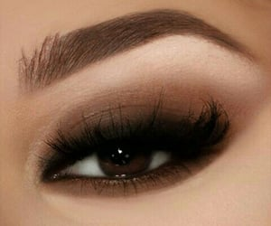 brown, cocoa, and eyebrows image