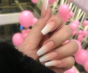 nails, fashion, and manicure image