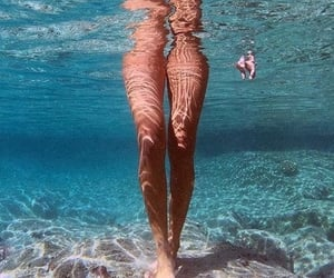 legs and water image
