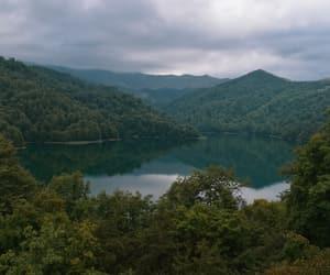 ganja, lake, and mountain image