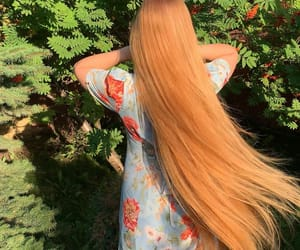 beautiful, beautiful hair, and ginger image