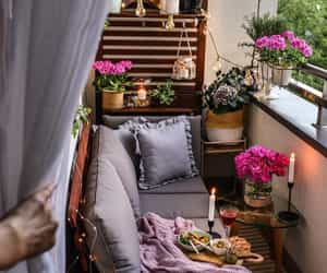 balcony, cozy, and breakfast image