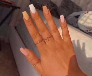 beautiful, nails, and Nude image
