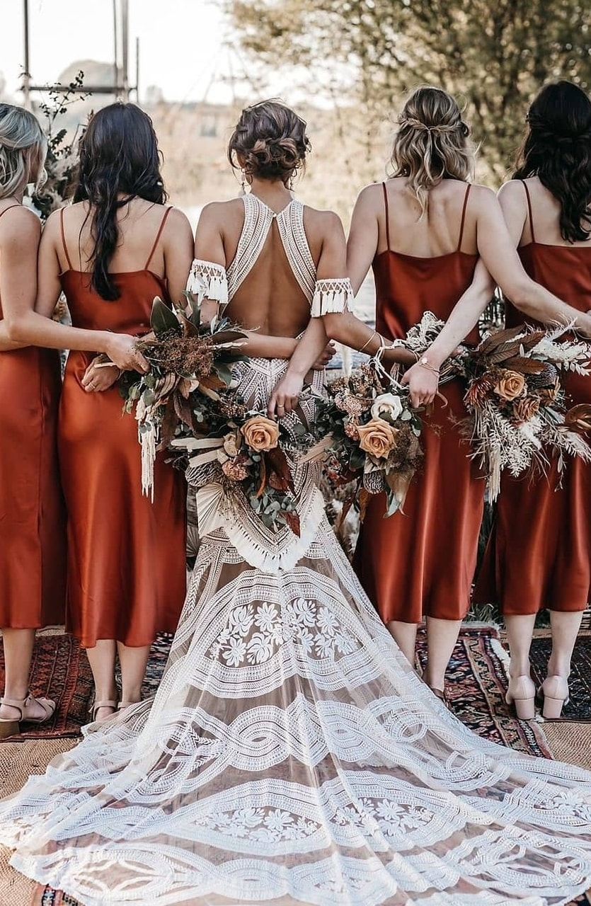 bridal, couples, and dress image