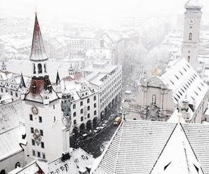 city, germany, and munich image