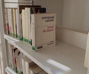 book, bookshelves, and design image
