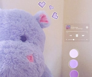 aesthetic, hippo, and icon image