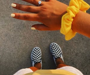 vsco, vans, and yellow image