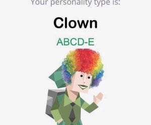 clown, reaction pic, and meme image