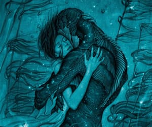 the shape of water, movie, and art image