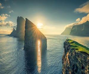 adventure, cliffs, and denmark image