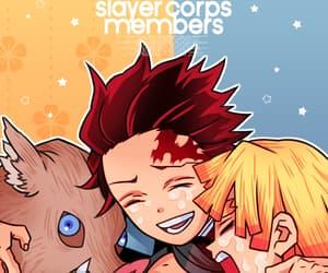 anime, demon slayer, and kimetsu no yaiba image