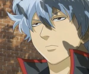 anime, gintama, and sakata gintoki image