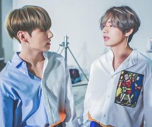 v, taehyung, and kim taehyung image