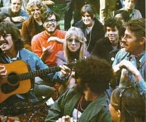 hippie, george harrison, and pattie boyd image