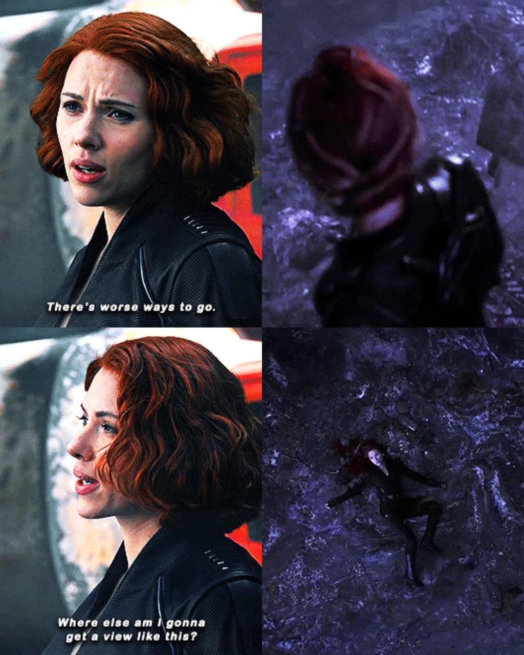 Marvel Avengers Movies Endgame Age Of Ultron Natasha