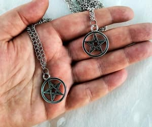 etsy, wicca, and star necklace image