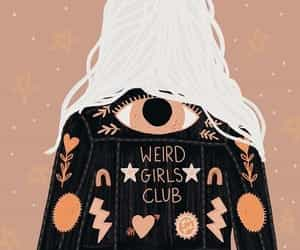 aesthetic, fashion, and weird girls club image
