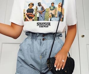fashion, outfit, and stranger things image