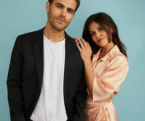 paul wesley and danielle campbell image