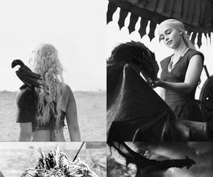 dragons, game of thrones, and fire and blood image