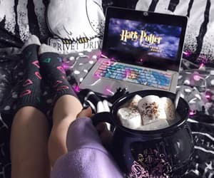 bedroom and harry potter image