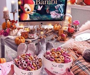 bambi, disney, and food image