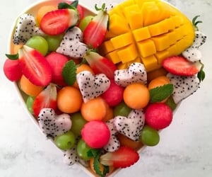 food, FRUiTS, and yummy image