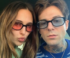 couple, devon carlson, and jesse rutherford image