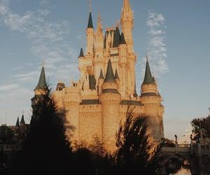 castle, disney, and disney world image